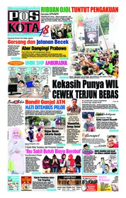 Cover Pos Kota 24 April 2018