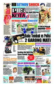 Cover Pos Kota 25 April 2018