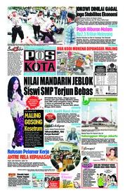 Cover Pos Kota 22 Mei 2018