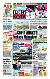 Pos Kota Cover 26 May 2018