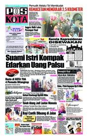 Cover Pos Kota 11 Juni 2018