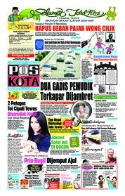 Cover Pos Kota 13 Juni 2018