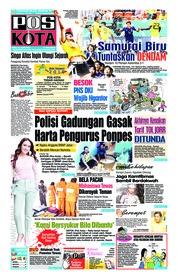 Cover Pos Kota 20 Juni 2018