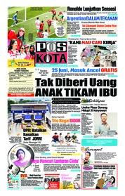 Cover Pos Kota 21 Juni 2018