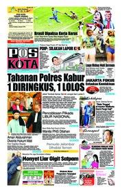 Cover Pos Kota 23 Juni 2018