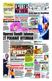 Cover Pos Kota 07 Juli 2018