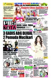 Cover Pos Kota 08 Juli 2018