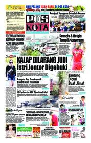 Cover Pos Kota 10 Juli 2018