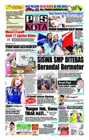 Cover Pos Kota 12 Juli 2018