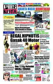 Cover Pos Kota 13 Juli 2018