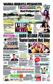 Cover Pos Kota 14 Juli 2018