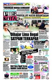 Cover Pos Kota 19 Juli 2018