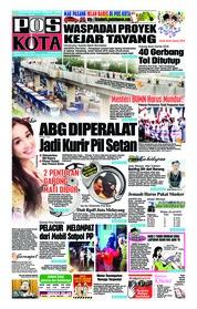 Cover Pos Kota 21 Juli 2018