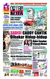 Cover Pos Kota 08 Agustus 2018
