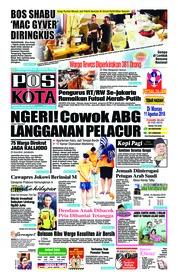 Cover Pos Kota 09 Agustus 2018