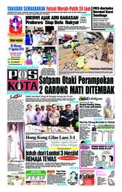 Cover Pos Kota 11 Agustus 2018