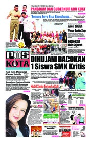 Cover Pos Kota 12 Agustus 2018