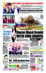 Cover Pos Kota 16 Agustus 2018