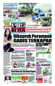 Cover Pos Kota 10 September 2018
