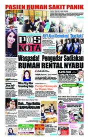 Cover Pos Kota 13 September 2018