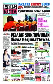 Cover Pos Kota 14 September 2018