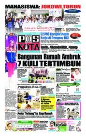 Cover Pos Kota 15 September 2018