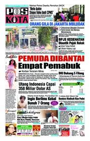 Cover Pos Kota 18 September 2018