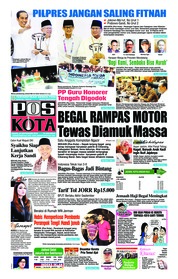 Cover Pos Kota 22 September 2018