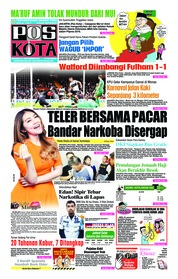 Cover Pos Kota 23 September 2018