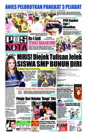 Cover Pos Kota 26 September 2018