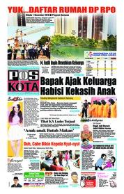 Cover Pos Kota 13 Oktober 2018