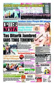 Cover Pos Kota 14 Oktober 2018