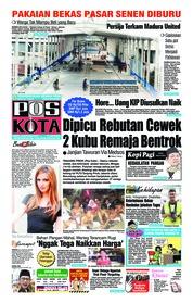 Cover Pos Kota 15 Oktober 2018