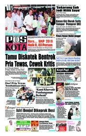Cover Pos Kota 18 Oktober 2018