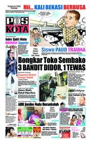 Cover Pos Kota 20 Oktober 2018