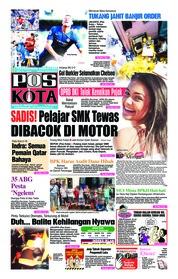 Cover Pos Kota 21 Oktober 2018