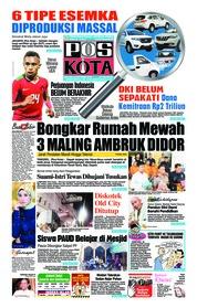 Cover Pos Kota 23 Oktober 2018