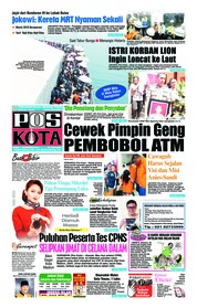 Cover Pos Kota 07 November 2018