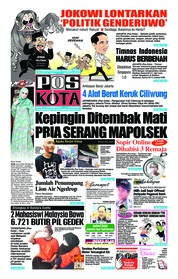 Cover Pos Kota 10 November 2018
