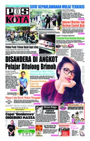 Cover Pos Kota 11 November 2018