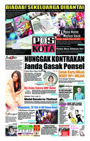 Cover Pos Kota 14 November 2018