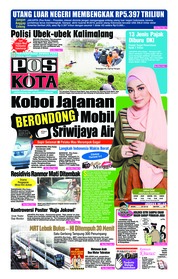 Cover Pos Kota 18 November 2018