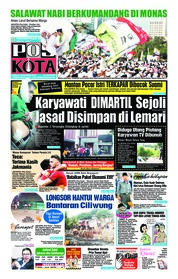 Cover Pos Kota 21 November 2018