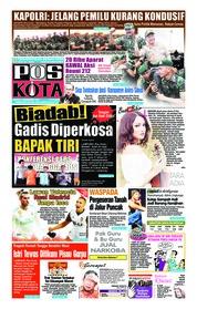 Cover Pos Kota 01 Desember 2018