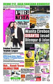 Cover Pos Kota 02 Desember 2018