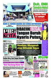 Cover Pos Kota 05 Desember 2018