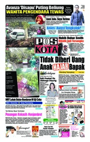 Cover Pos Kota 07 Desember 2018