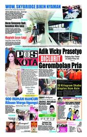 Cover Pos Kota 08 Desember 2018