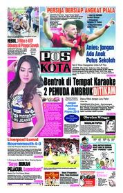 Cover Pos Kota 09 Desember 2018