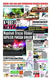 Cover Pos Kota 13 Desember 2018